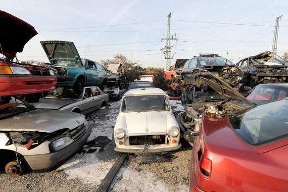 scrap car recycling